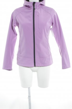 CMP Softshell Jacket lilac-black Logo application
