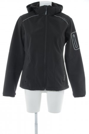 CMP Softshelljacke schwarz schlichter Stil