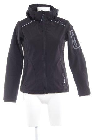 CMP Übergangsjacke schwarz sportlicher Stil