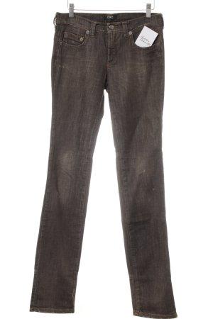 CNC Vaquero rectos marrón grisáceo look casual
