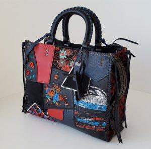 Coach 1941 Rogue Embellished Patchwork Satchel Bag Tragetasche