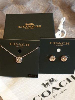 Coach Chaîne or rose