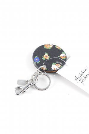 Coach Anhänger florales Muster Casual-Look