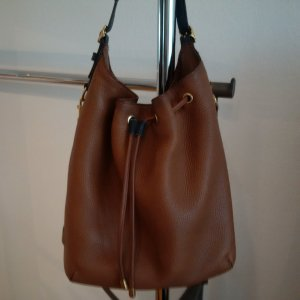 Coach Pouch Bag camel leather