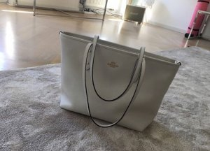 Coach City Zip Tote Handtasche in weiß