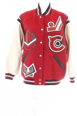 Coach College Jacket multicolored boyfriend style