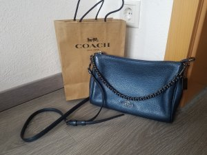 Coach Crossbody Bag, Leder, blau