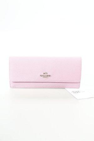 COACH Geldbörse rosa schlichter Stil