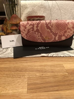 Coach Wallet rose-gold-coloured-gold-colored leather
