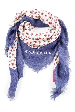 Coach Fazzoletto da collo motivo floreale stile casual