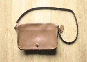 COACH handbag Ledertasche Vintage Retro Handtasche!