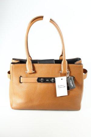 COACH Handtasche braun Casual-Look