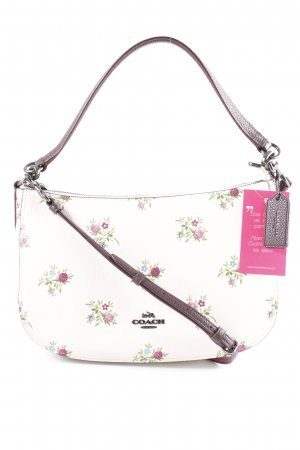 "Coach Handtasche ""Chelsea Cross Stitch Floral Print Crossbody Chalk"""