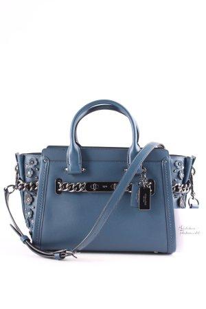 Coach Handtasche petrol Street-Fashion-Look