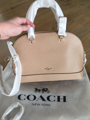 Coach Handtasche Tasche NEU Beechwood Sierra Beige Leder Shopper Crossbody