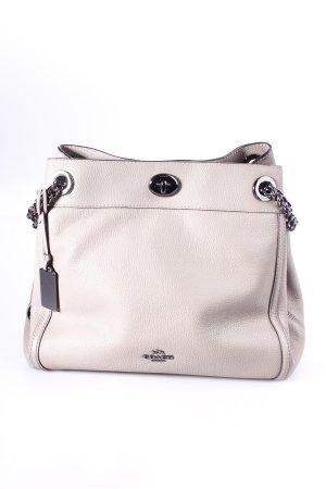 """COACH Handtasche """"Turnlock Edie Shoulder Bag Taupe"""" graubraun"""