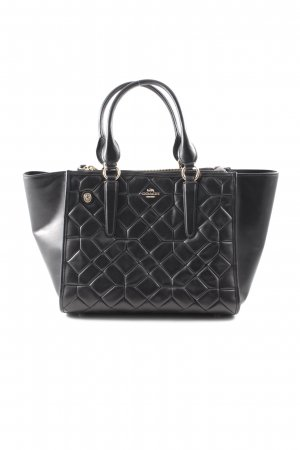 "Coach Henkeltasche ""Canyon Quilted Tote Leather Black"" schwarz"