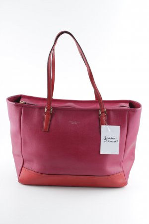 Coach Carry Bag magenta-red elegant