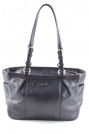 Coach Henkeltasche schwarz Business-Look