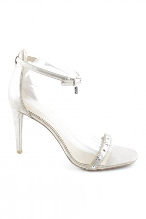 Coach High Heel Sandal gold-colored-silver-colored elegant