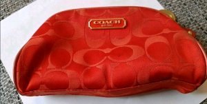 Coach Make-up Kit red-brick red