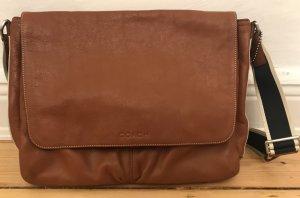 Coach Leder Messenger Bag Tasche braun
