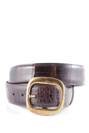 Coach Leather Belt brown animal pattern animal print