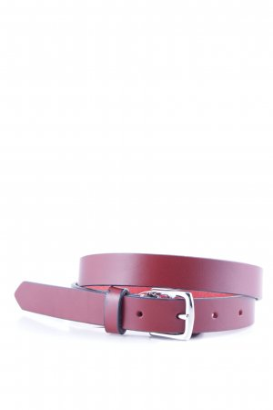 Coach Leather Belt carmine elegant