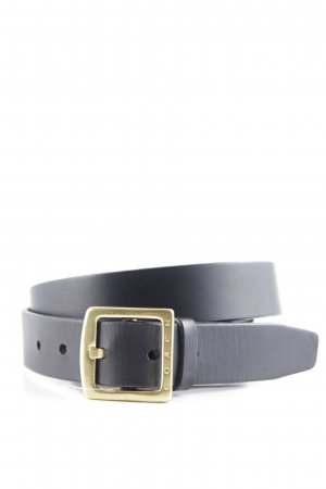 Coach Leather Belt black-gold-colored casual look
