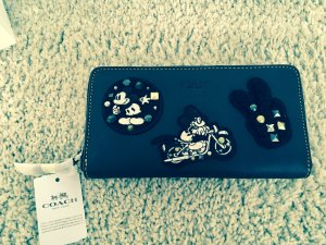 Coach limited Disney Mickey Mouse Patch Wallet
