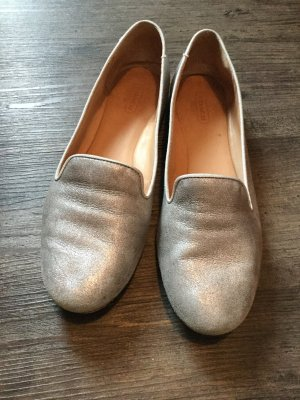 Coach Loafer in Silber