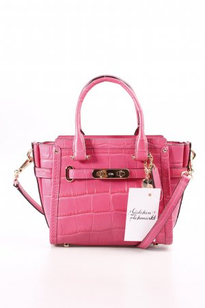 COACH Mini Bag pink-gold-colored extravagant style