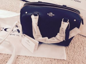 Coach New York Designer Handtasche Schwarz
