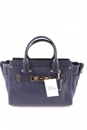 "Coach Satchel ""Swagger Nubuck Pebble Satchel Navy "" dark blue"
