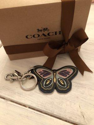 Coach Key Chain dark blue