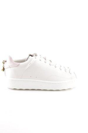 "Coach Schnürsneaker ""Low Top Sneaker White/Petal"""