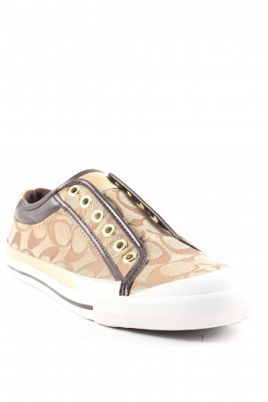 Coach Schnürsneaker Monogram-Muster Casual-Look