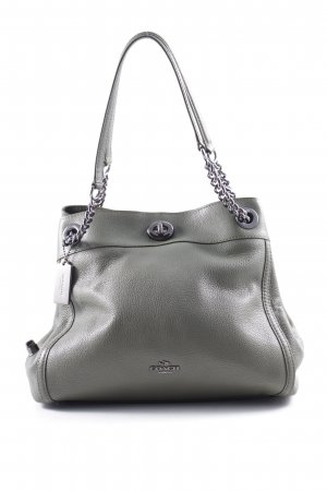 "Coach Schultertasche ""Edie Turnlock Shoulder Bag Green"" khaki"