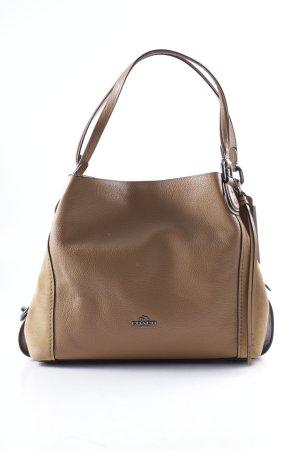 "Coach Schoudertas ""Mixed Leather Edie 31 Shoulder Bag Dk/Light Saddle"""