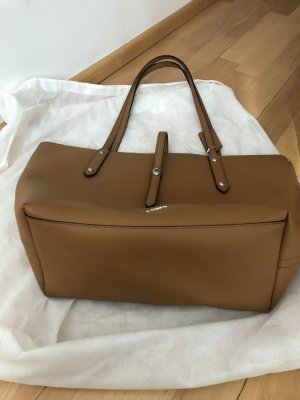 Coach Carry Bag cognac-coloured