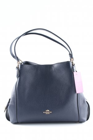 "Coach Shopper ""Polished Leather Edie 31 Shoulder Bag Navy"" dunkelblau"