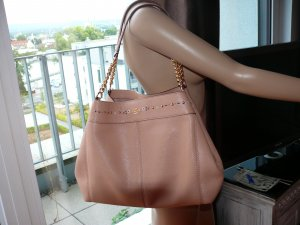 Coach Shoulderbag light rose Turnlock