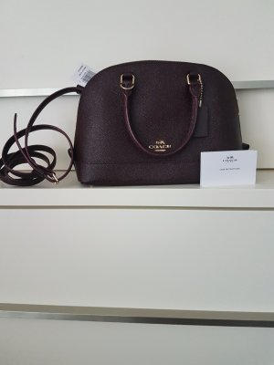 Coach Sierra Oxblood Bordeaux dunkelrot Tasche Handtasche Neu Leder