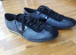 Coach Sneaker NEU Schuhe Schwarz Gold 37,5
