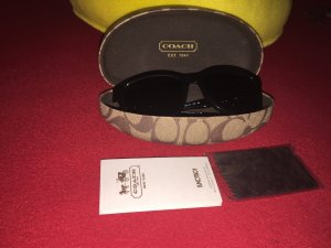 Coach Sunglasses black-silver-colored