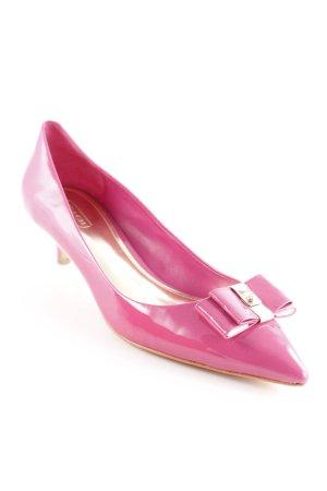 Coach Spitz-Pumps pink extravaganter Stil
