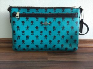 Coach Handbag black-cadet blue