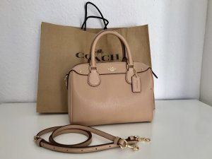 Coach Bowling Bag rose-gold-coloured-nude leather