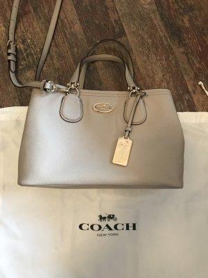Coach Tasche Bag Leder Beige/Creme Neuwertig NP 449€