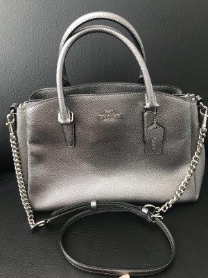 Coach Borsa con manico argento-grigio chiaro